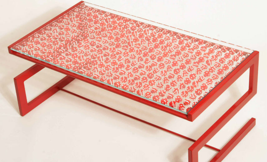 Piers Bourke - Lucky 7 Dice Table (detail), 2012, copyrights Piers Bourke