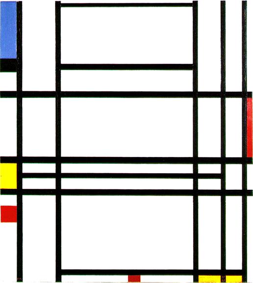 Piet Mondrian - Composition No. 10.1939-42