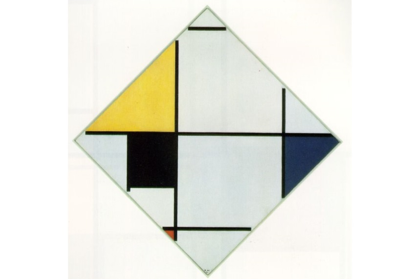 Piet Mondrian abstract paintings