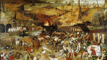 Image of Hell, Madrid, Brueghel,1562