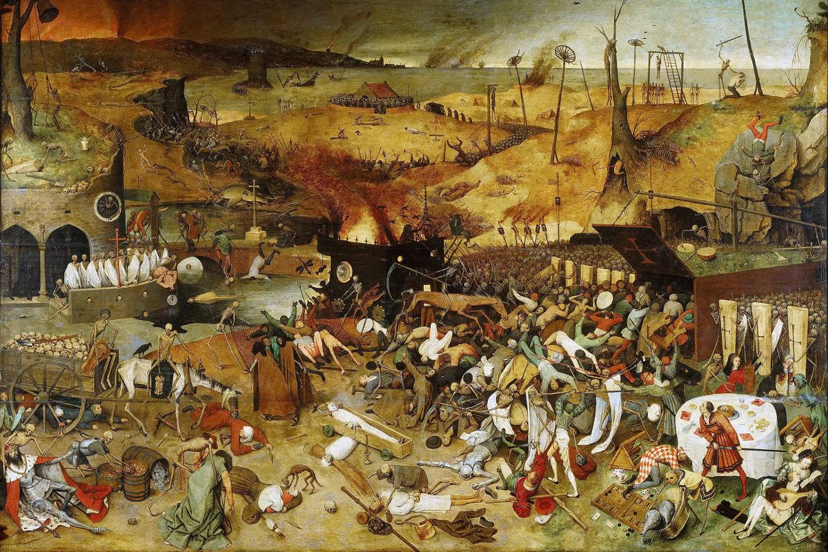 Image of Hell, Madrid, Brueghel,1562