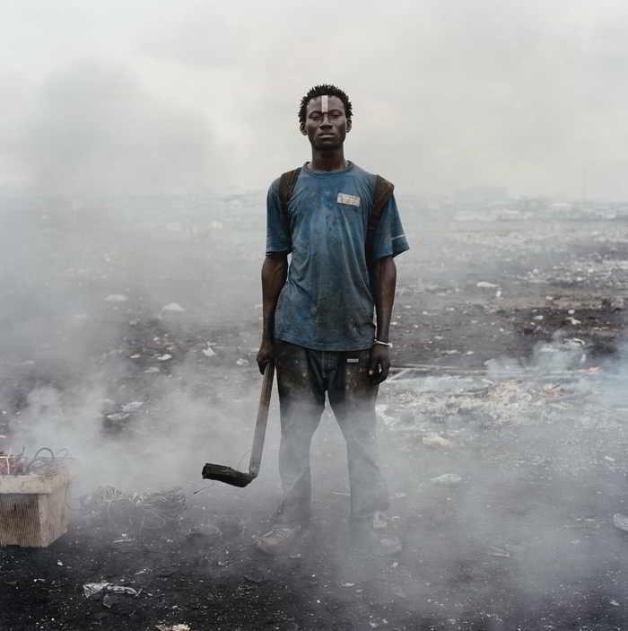 Pieter Hugo-Aissah Salifu, Agbogbloshie Market, Accra, Ghana from Permanent Error-2010