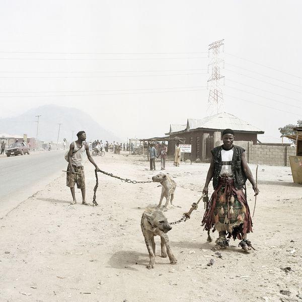 Pieter Hugo - Mallam Galadima Ahmadu with Jamis and Mallam Mantari Lamal with Mainasara, Nigeria, 2005