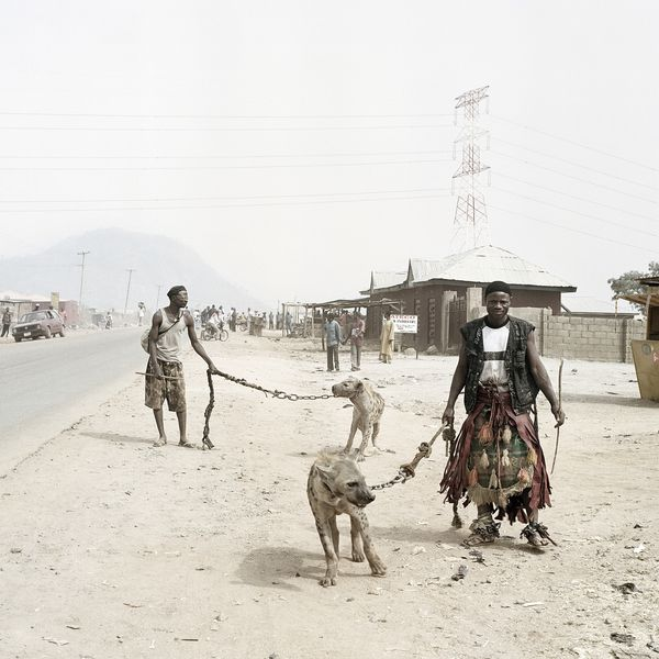 Pieter Hugo - Mallam Galadima Ahmadu with Jamis and Mallam Mantari Lamal with Mainasara, Nigeria, 2005