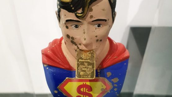 Pinkhas - Pez - Superman (detail)
