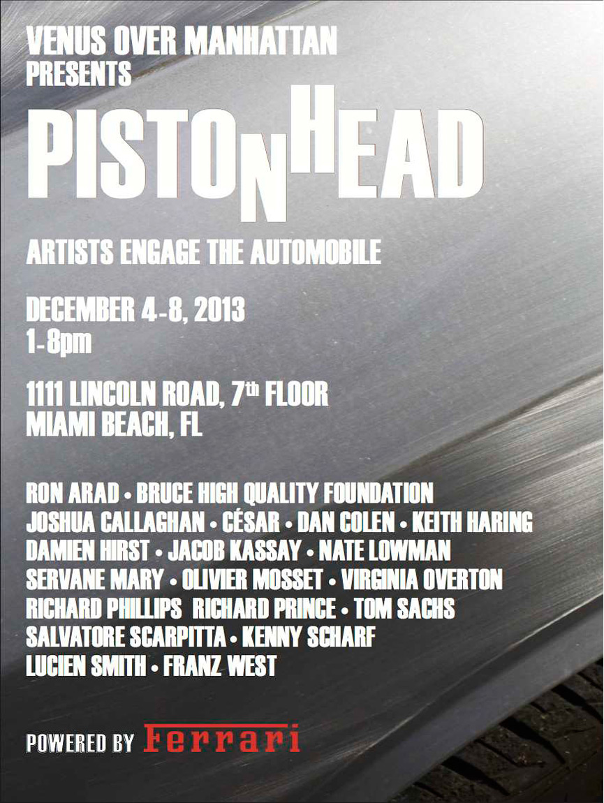 Piston Head invitation