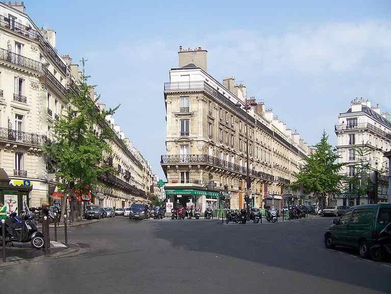 Place de Dublin Paris May 2010