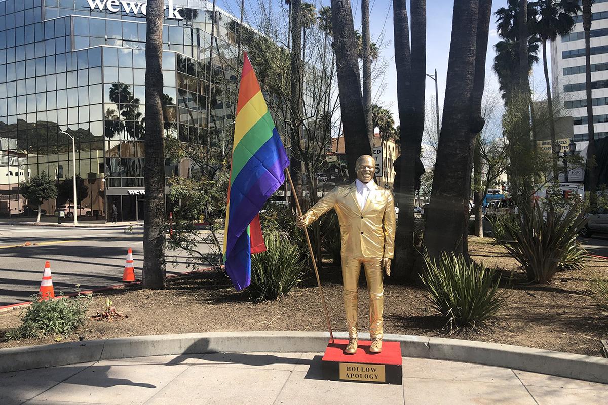 Plastic Jesus Kevin Hart Oscars Statue 2019