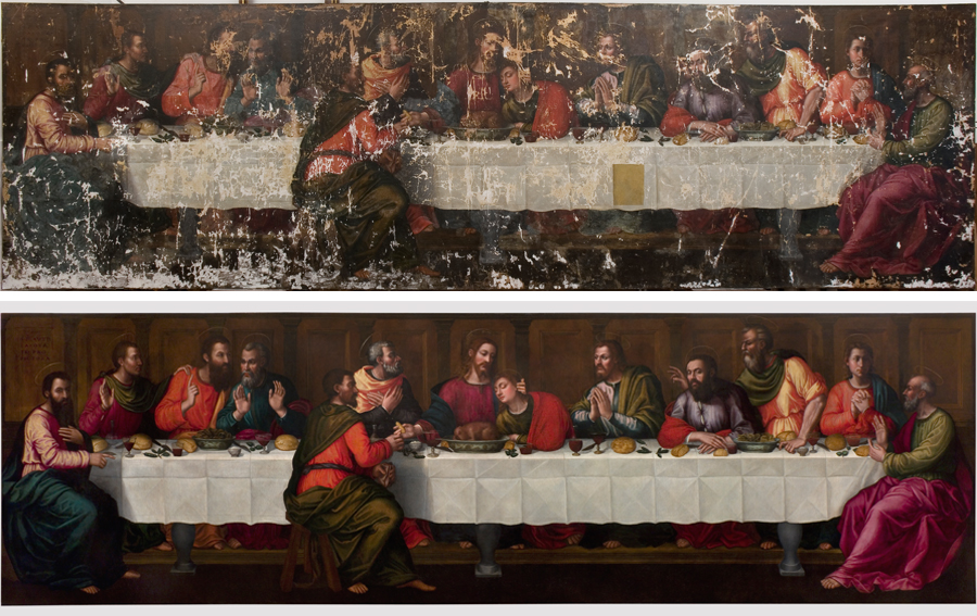 Plautilla Nelli The Last Supper Restored