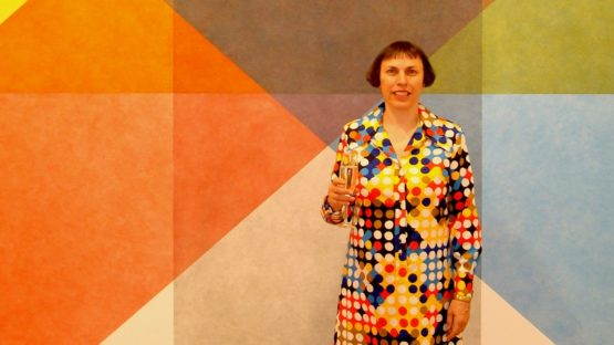 Polly Apfelbaum - Photo of the artist - Photo Credits Kipiboo