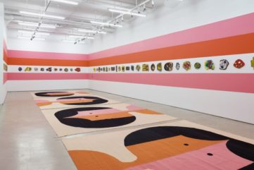 Polly Apfelbaum- The Potential of Women, installation view