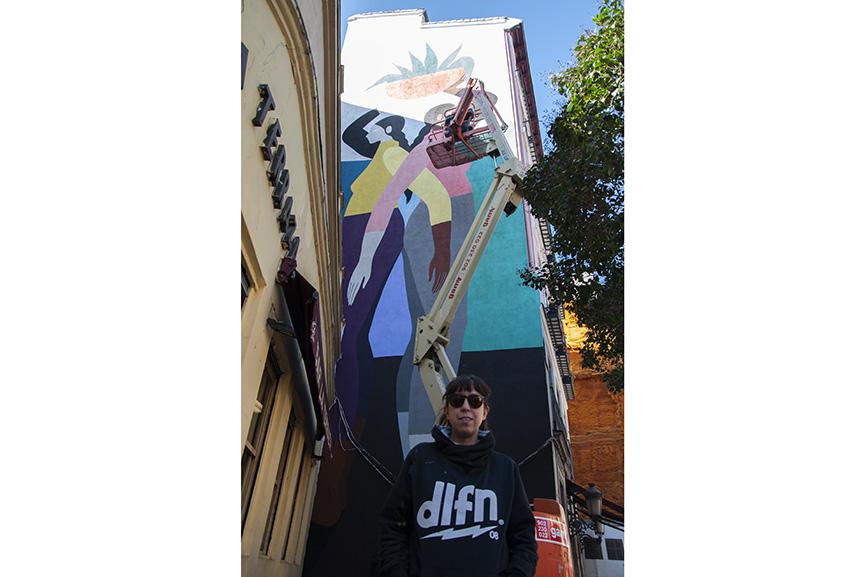 Poni Urvanity Art Mural 2019