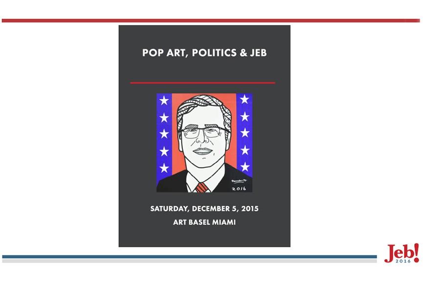 Romero Britto - Pop Art, Politics and Jeb Bush