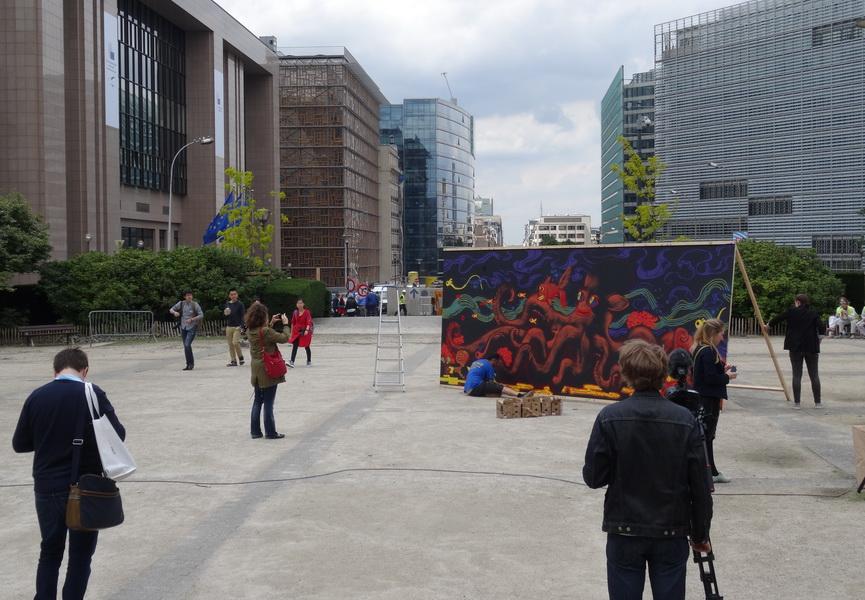 Street art event