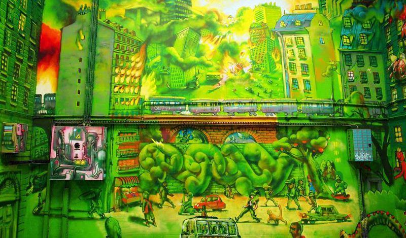 Popay street art