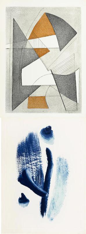 Marc Chagall-Georges Braque-Max Ernst-Portfolio - Paroles Pientes I-1962