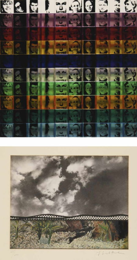 Jasper Johns-James Rosenquist-Andy Warhol-Larry Poons-Donald Judd-Robert Rauschenberg-Lee Bontecou-Portfolio - Ten From Leo Castelli-1968