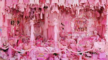 Portia Munson - Pink Project Bedroom