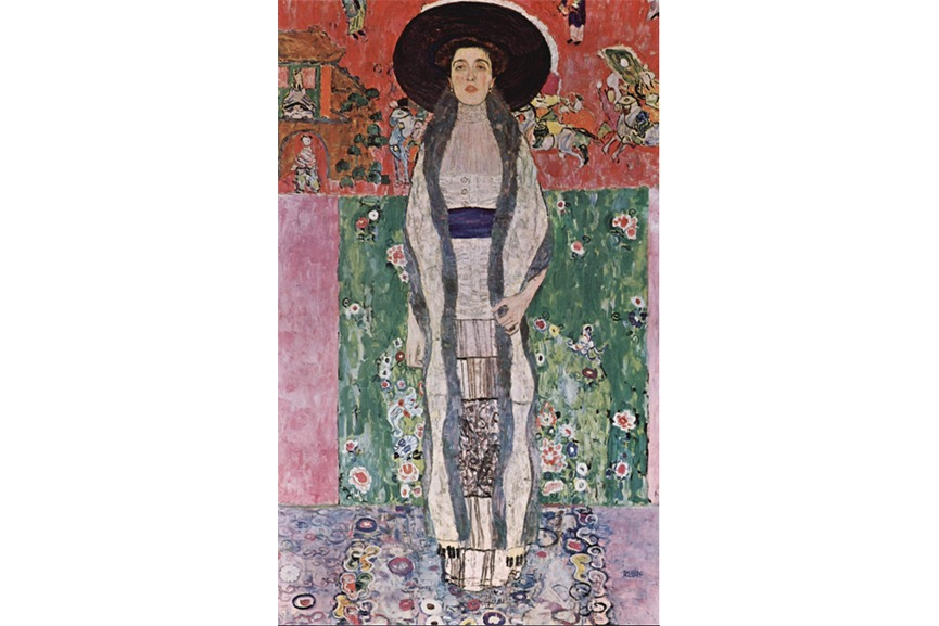 Gustav Klimt Portrait of Adele Bloch Bauer