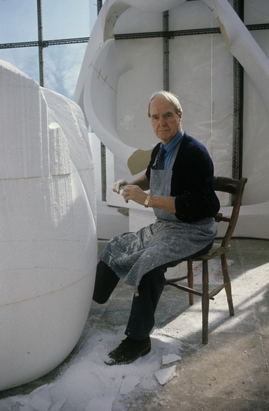 Portrait of Henry Moore