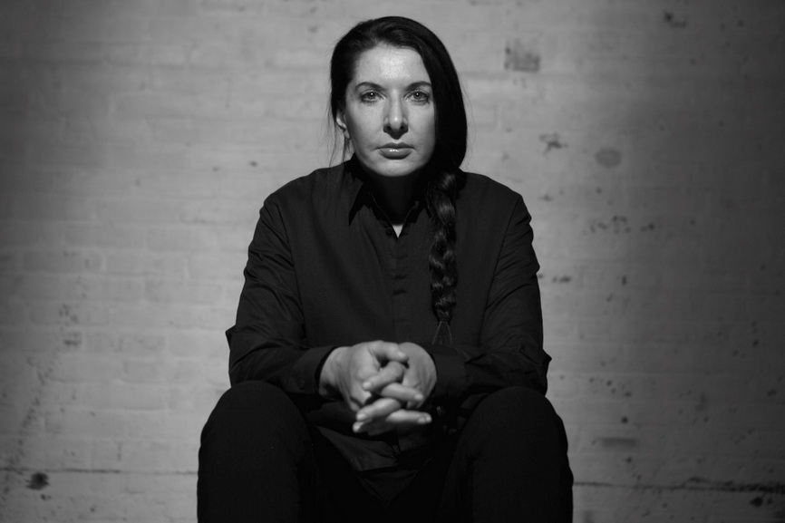 Portrait of Marina Abramović by Dušan Reljin