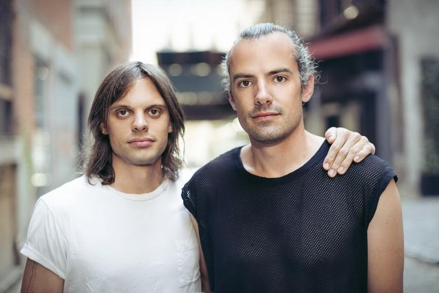Portrait of Nikolai and Simon Haas