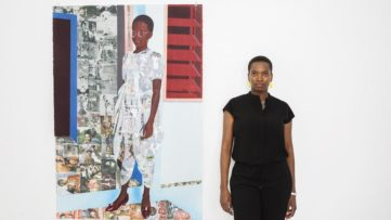 Portrait of Njideka Akunyili Crosby