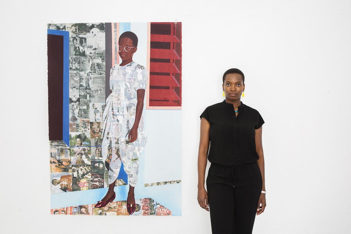 Portrait of Njideka Akunyili Crosby