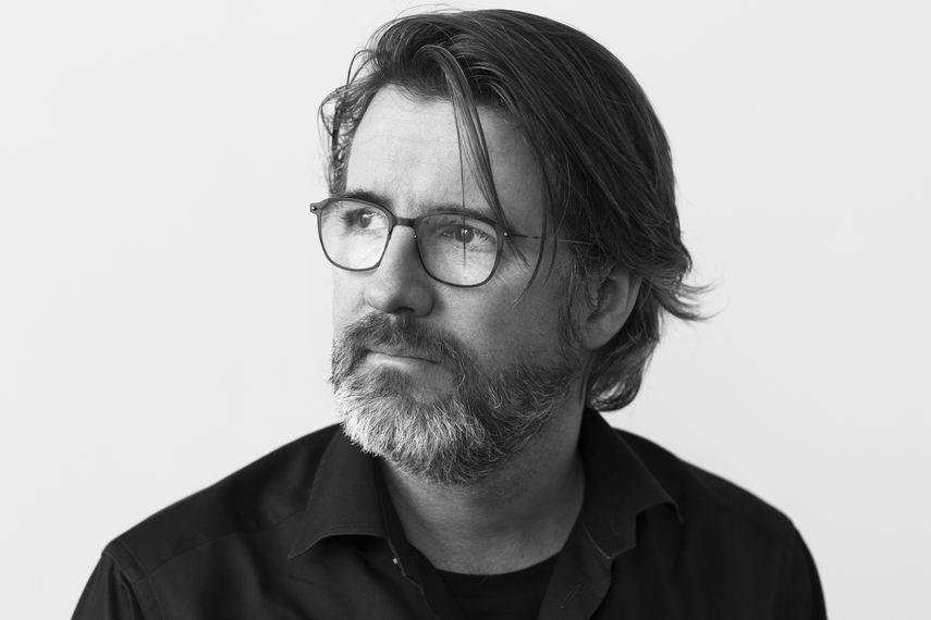 Portrait of Olafur Eliasson, by Brigitte Lacombe