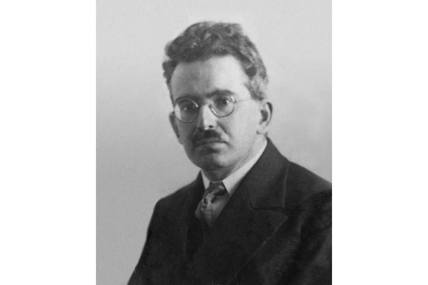 Portrait of Walter Benjamin