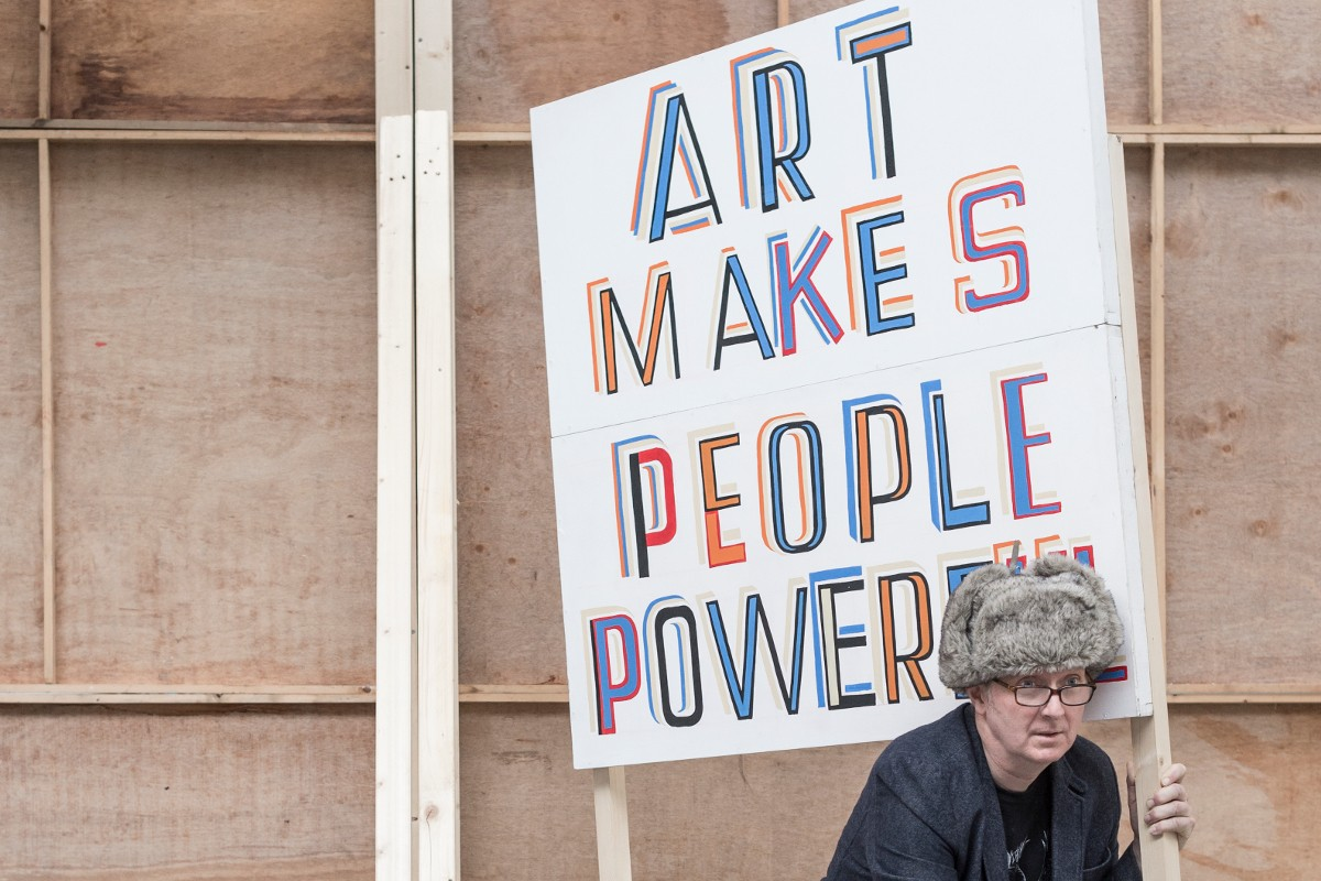 Portrait of Bob & Roberta Smith