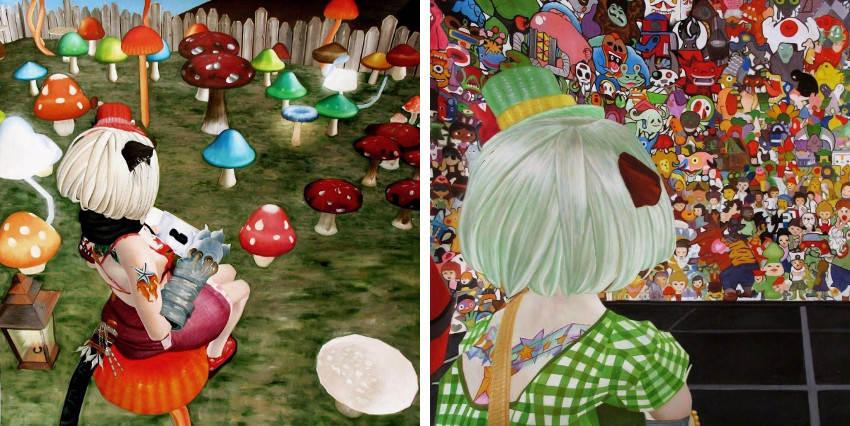 Potchi Moopp - Crazy Mushrooms, 2008 - Flushing Meadows, 2008