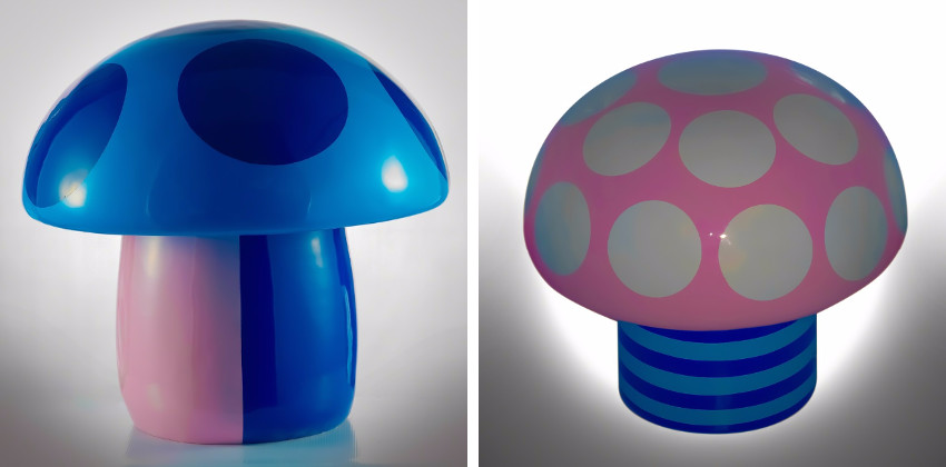 Potchi Moopp - Crazy Mushrooms 50cm, 2015 - Magic Mushrooms 100cm, 2015