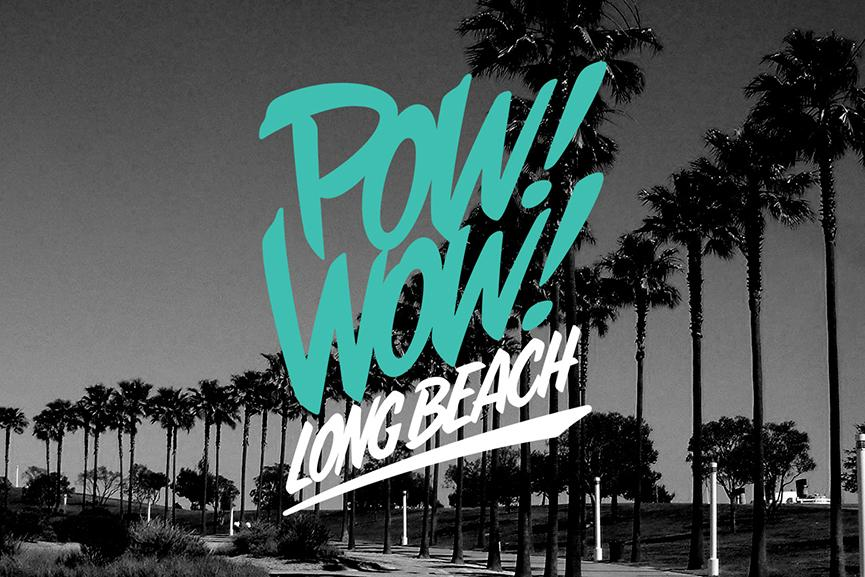 POW WOW street art festival long beach
