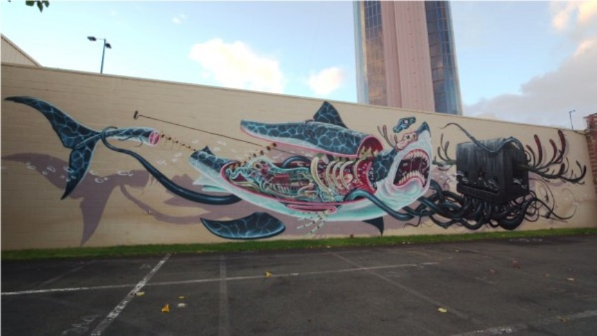 Street art Hawaii