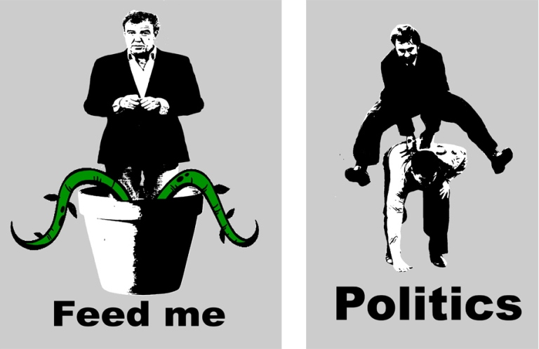 Predator - Feed Me (left) and Politics (right), 2015
