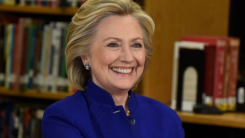 Presedential Candidate Hillary Clinton,  via abc news