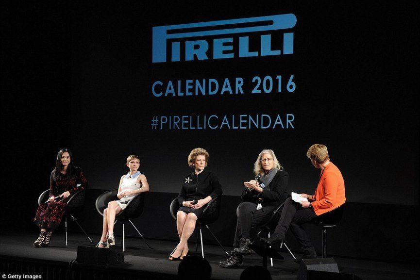 Pirelli Calendar 2016 fashion