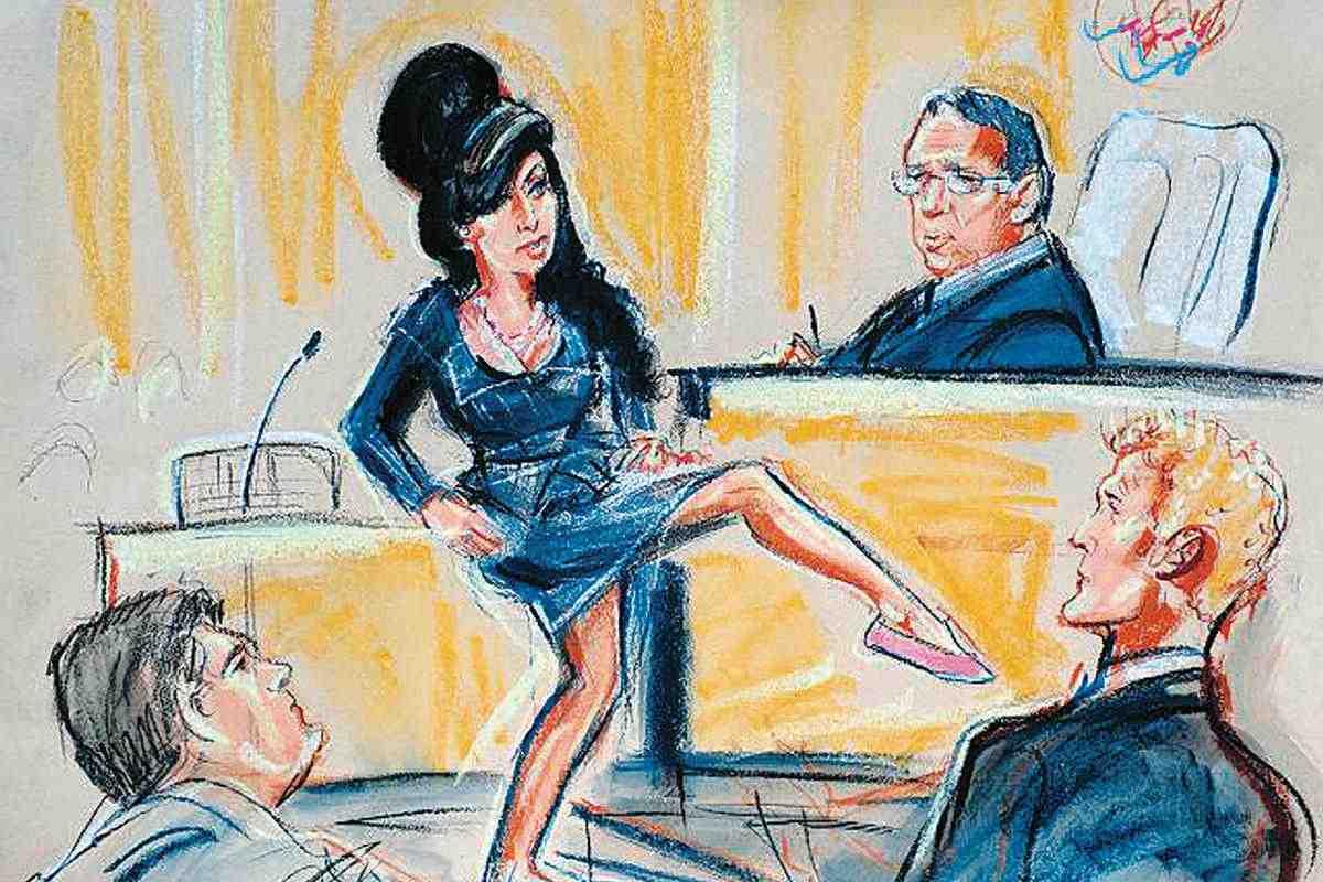 courtroom art