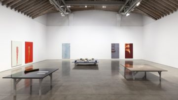 Projective Instrument exhibition at Paula Cooper Gallery