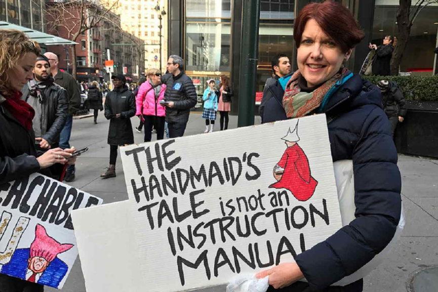 2017 january women's march was on twitter
