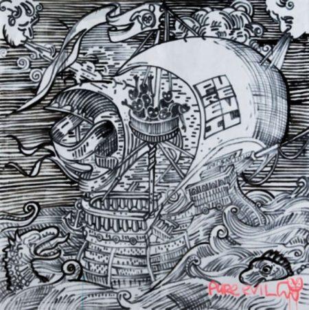 Pure Evil-Pirate Ship-2009