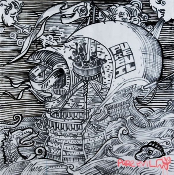 Pure Evil-Pirate Ship-2009