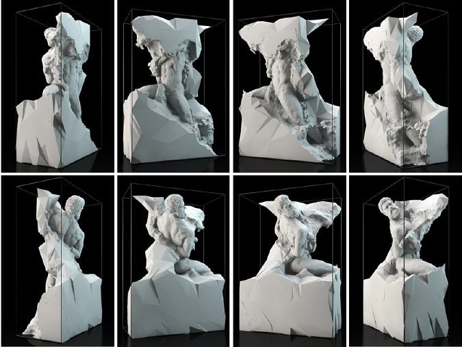 Quayola - Captives, 2013, Process of Creation - Copyright Quayola