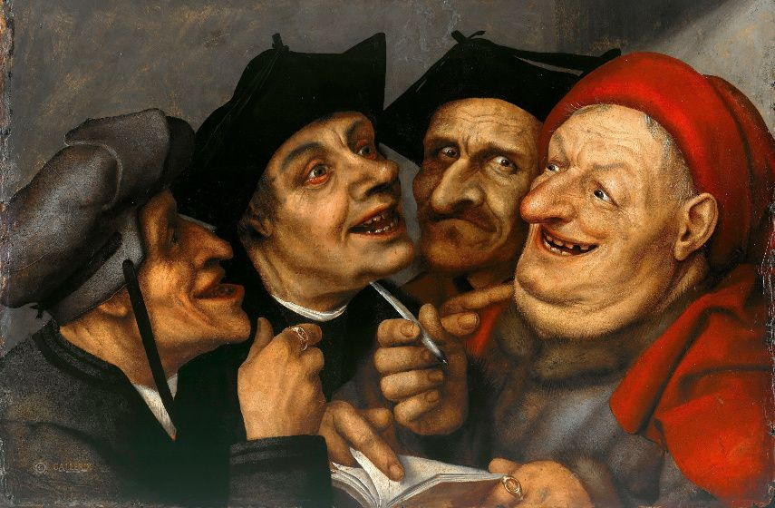 old works massys page link metsys quinten national massys page new new Quentin Matsys - The Purchase Contract