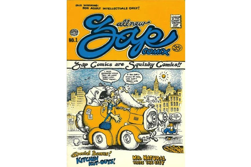 R. Crumb - Zap Comix, No. 1, 1967.