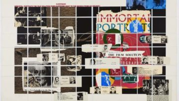 R.B. Kitaj - Immortal Portraits, 1972