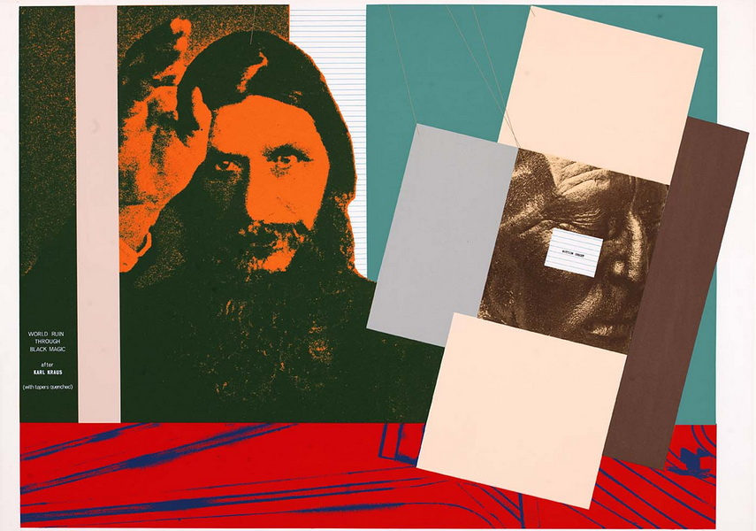 The painting style of Kitaj was on view in London and on home American soil as well