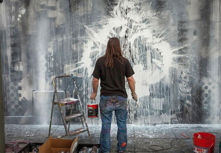 Miller mural in LA