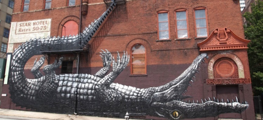 Street art NZ